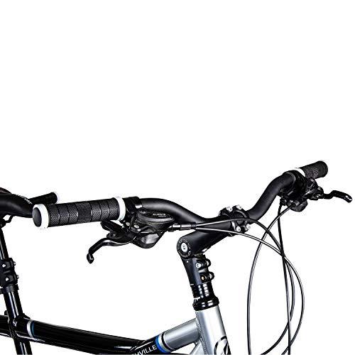 Galano Tandem Fahrrad 26 Zoll Mountainbike Nashville 24Gang MTB Hardtail Fahrrad (schwarz/grau, 53/46 cm) - 5