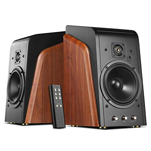 Check Out This Swan Speakers - M300 - Powered Bookshelf Speakers - Living Room Speakers - 240W RMS -...
