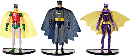Batman Classic TV Series Batman, Robin and Batgirl Figure 3-Pack