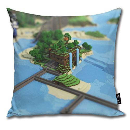 Pants Hats Mi-Necraft 31 Pattern Pillow-Home Decor Pillow Cover Bedroom Decorative Cushion Case For Living Sofas Square Pillow
