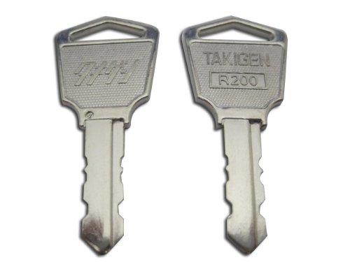 タキゲン(純正子鍵キー) R200番