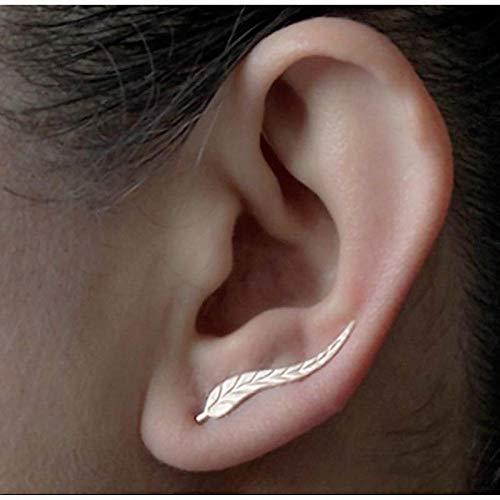Niaofeces Arete Carácter Individual Long Star Ear Drops Aquamarine Silver 925 Joyas con Piedras Preciosas Pendientes Azules para Mujeres Gift-Blue
