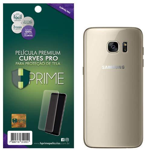 Pelicula Curves Pro para Samsung Galaxy S7 Edge - VERSO, HPrime, Película Protetora de Tela para Celular, Transparente