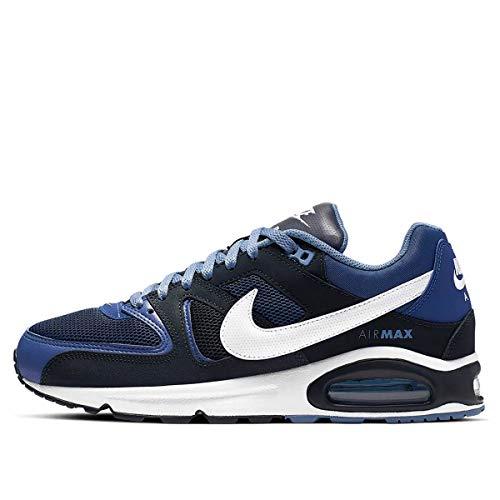 Nike Air MAX Command, Zapatillas de Atletismo Hombre, Multicolor (Deep Royal/White/Dark Obsidian 410), 43 EU