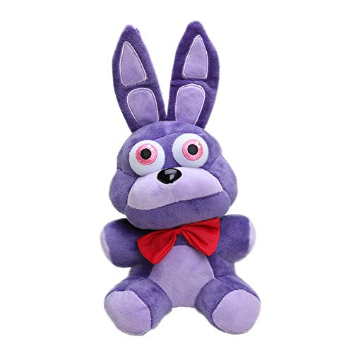 Beiduofen Plushies Foxy Anime Toys Sets, Gifts for Five Nights Anime Fans, Stuffed Toys Dolls, FNAF Toys, Fazbear Nightmare Foxy Bonnie Plush Doll for Kids