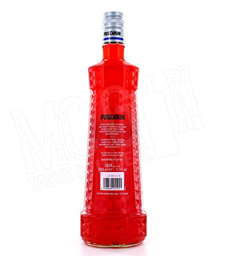 Puschkin Red Orange Likör - 1.0L