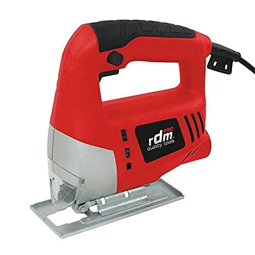 RDM Quality Tools 70053 PRO Sierra de calar - 710 W - 240 V - Rojo y negro
