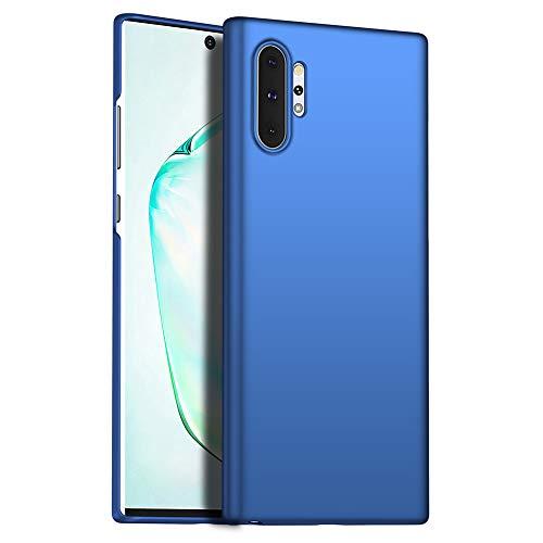 Richgle Funda Samsung Galaxy Note 10+ / Note 10 Pro, Azul Ultra Slim Protectora Funda Case Duro Cover para Samsung Galaxy Note 10 Plus RG00709