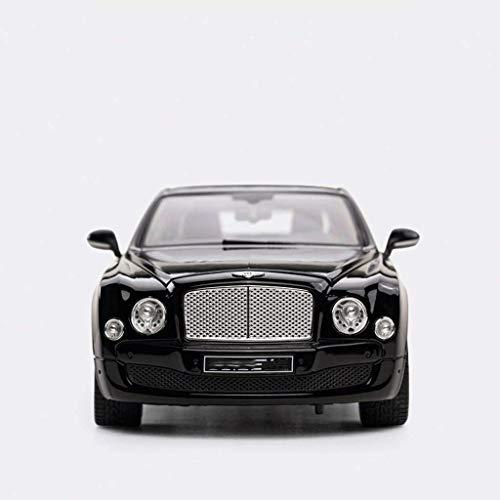 zeyujie 1:18 Modelo de Coche estático, Juguetes educativos, Control Remoto Juguetes para automóviles, Modelo Coche Bentley Mussang Modelo de Aleación Modelo Simulación Original Metal Coche de Juguete