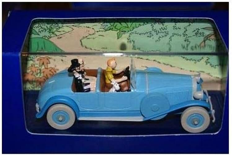 Hergé - Atlas - En voiture Tintin - 05 - Les Cigares du Pharaon, la Lincoln Torpedo