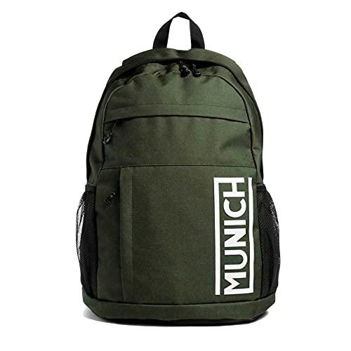 Munich Backpack Gym Sports Kaki, Bags Unisex Adulto, L