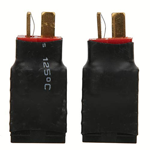Accesorios RC, plástico, metal hecho aprox. Cargador de batería Lipo de 4 cm / 1.6in 4cm para el conector del cargador de batería del adaptador inalámbrico de TRAXXAS RC NICD