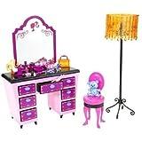 Mattel N4897 - Tocador para Barbie