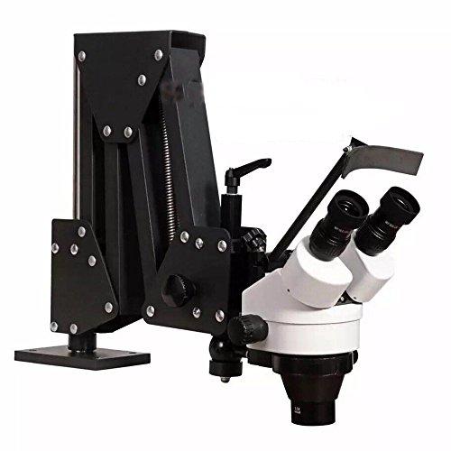 JIAWANSHUN Micro Inlaid Mirror Multi-Directional Micro-Setting Microscope Jewelry Tools