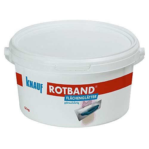 Knauf 4006379074327 Rotband Flächenglätter, Gelblich, 5 kg
