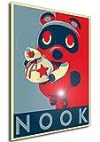 Nook-Propaganda – Animal Crossing Poster 70 × 50 cm