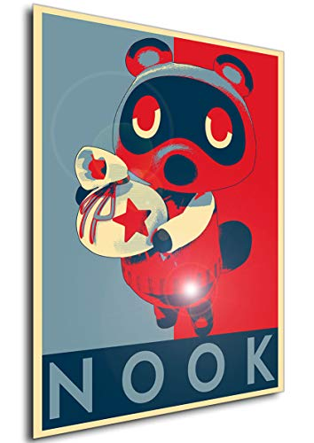 Instabuy Poster - Propaganda - Animal Crossing - Tom Nook Variant Manifesto 70x50