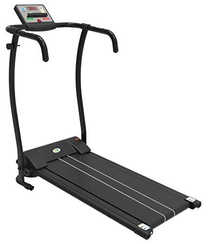 FIT4HOME Treadmills Motorised Home Electric Folding Treadmill Running Machine | JK08E Black