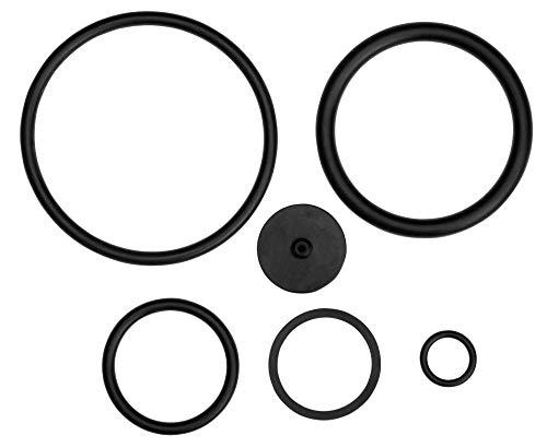 Gardena Juego de Juntas para pulverizador a presión (para artículos 1110, 1112, 1114, 11120, 11130, 11136, 11138), Negro, Talla única