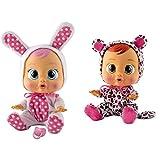 IMC Toys Bebés Llorones, Coney (10598) + Bebés Llorones, Lea (10574)...