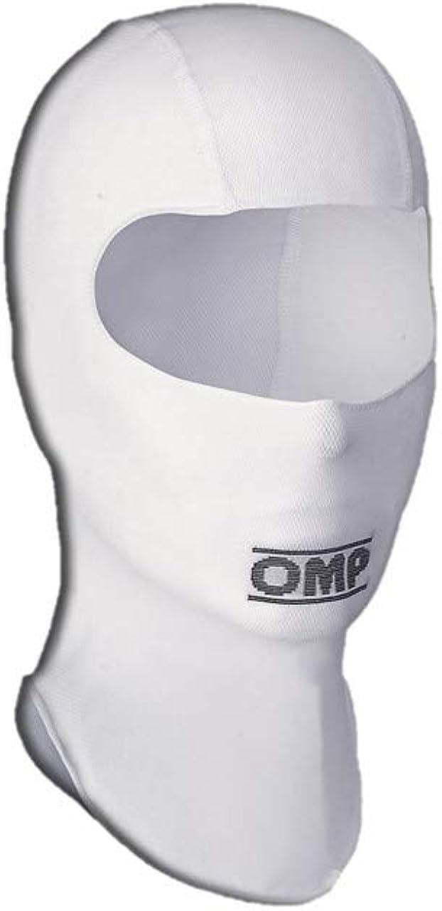 OMP Men's Balaclava, White, One Size