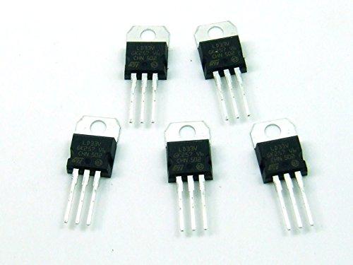 Piezas /pcs. 5 x LD1117V33 (LD33V)Estabilizador de Tensión