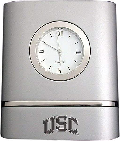 LXG 公司南加州大学双色台钟银色