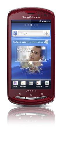 Sony Ericsson Xperia Pro MK16i (QWERTZ) Smartphone sbloccato, no brand SIM free - rosso
