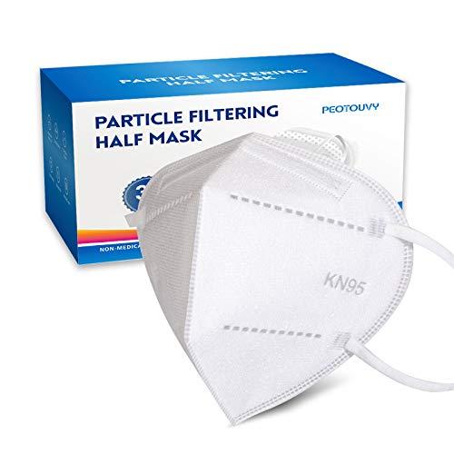 PEOTOUVY 30 Mascarillas FFP2, FFP2 Certificado CE Mascarilla de Protección, Mascara Alta Eficiencia Filtración
