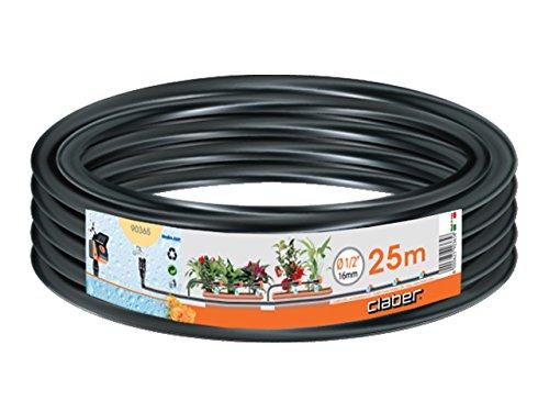 """Claber 90365 Tubo 1/2"""" (13 - 16 mm), 25 metri, Nero"""