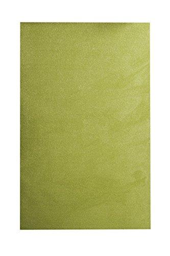 havatex Velours Teppich Burbon - 14 Farben modern & klassisch   Top Preis-Leistung   TÜV-geprüft & schadstoffgeprüft   Wohnzimmer Schlafzimmer, Farbe:Apfel-Grün, Größe:200 x 200 cm