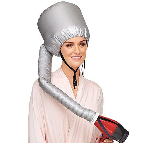 Beautyours Safety Portable Hair Dryer Bonnet Attachment for Hair Dryer w/One Hair Dryer Sock