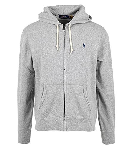 Ralph Lauren Mod. 710706348 sweatshirt hoodie Magic heren grijs