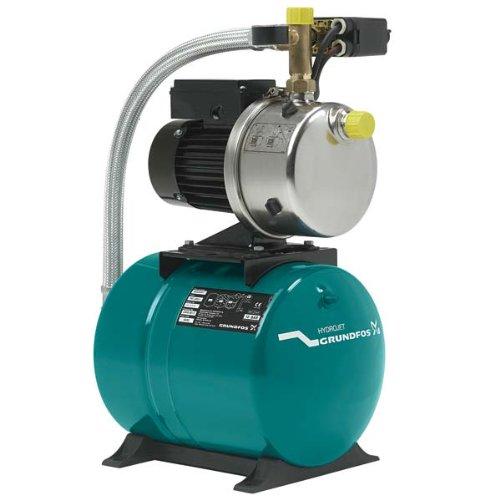 Grundfos JP 6 60 Hauswasserwerk Hydrojet JP 6 mit 60 Liter Membrandruckkessel
