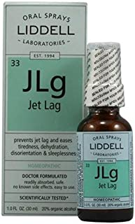 Liddell Homeopathic Jet Lag Remedy, 1 Fluid Ounce