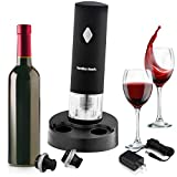 Electric Wine Preserver - Wine Accessories Set Includes 2 Bottle Stoppers
