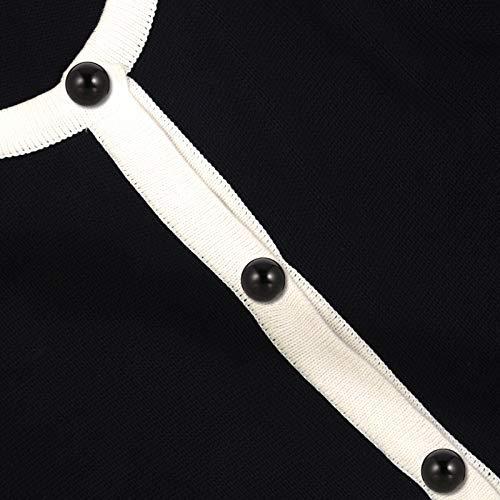 Metagio - 50 botones de media perlas nacaradas negras de resina de 12,5 mm con anillas, accesorio para bricolaje, artesanía, decoración para camisa, falda, suéter, pendientes, colgante de collar
