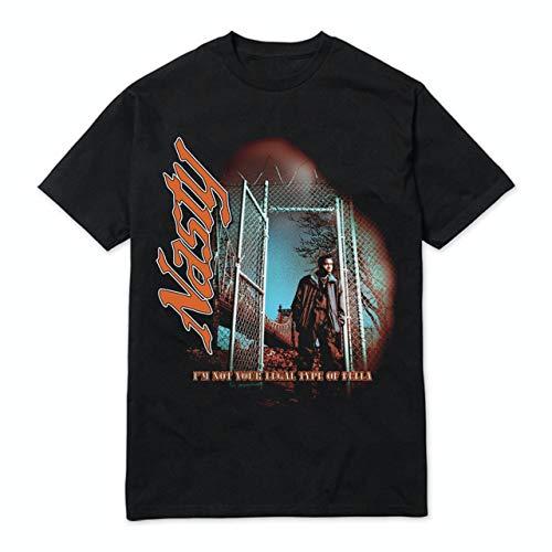 Nas Merch Nasty Nas Photo T-shirt Long Sleeve Sweatshirt Hoodie