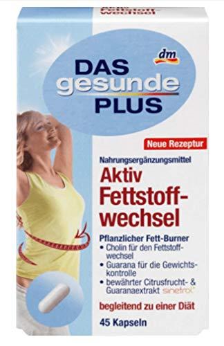 Das Gesunde Plus Aktiv Festoffwechsel Kapseln 1x60 Stk