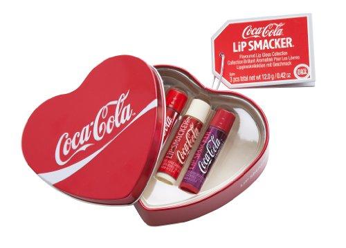 Lip Smacker Coca-Cola Corazón regalo caja de la lata