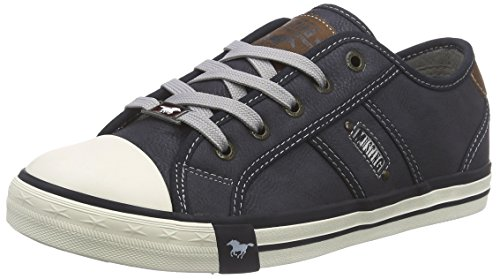 Mustang Damen 1209-301-800 Sneakers, Blau (800 dunkelblau), 40 EU