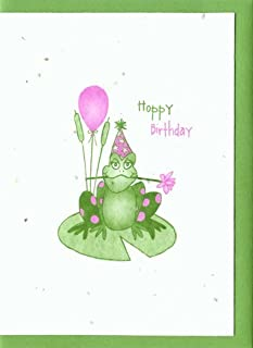 Grow A Note® Hoppy Birthday Frog Cards 4-pack