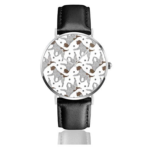 Reloj de Pulsera Reloj de Cuarzo Trote Apuntando con Alambre Patas de...