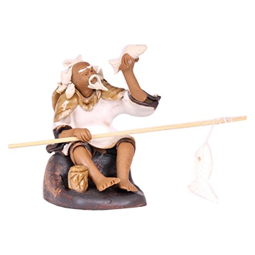Bonsai - Figur, Angler, ca. 6,5 cm hoch 70525