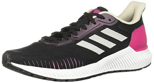 adidas Performance Solar Ride - Zapatillas de Correr para Mujer, Color Negro/Rosa, 5,5 UK - 38 2/3 EU - 7 US