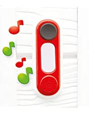 Smoby 810908WEB deurbel, elektronisch, rood