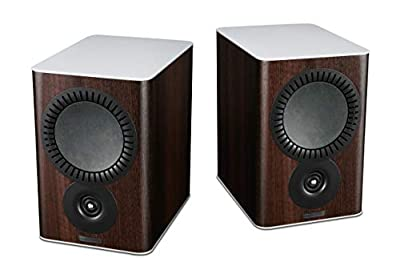 Mission QX-2 Bookshelf Speakers - Walnut Pearl (Pack of 2) from Mission