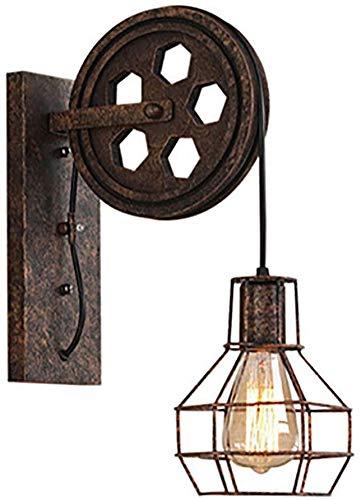 Corredor ligero de la pared de la lámpara aplique rústico de OM...