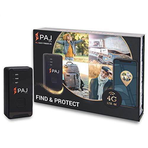 4G Easy Finder von PAJ GPS, GPS-Tracker mit neuester Technologie, inkl. SOS-Taste, Akkulaufzeit ca. 7-10 Tage, LTE inkl. App