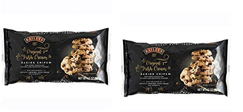 BAILEYS Original Irish Cream Baking Chips, Semi Sweet Chocolate Chips Morsels ~ pack of 2